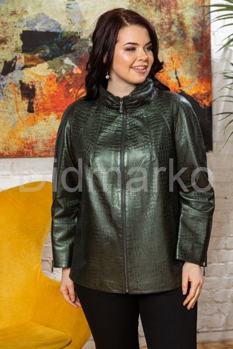 """Кожаная куртка """"ДЖЕСИНТА"""". Фото 6."""