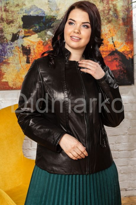 Кожаная куртка- пиджак. Фото 6.