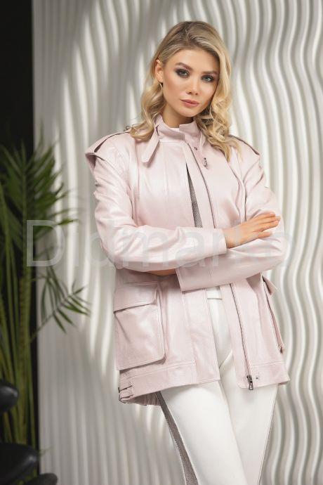 Женская кожаная куртка - трансформер PUNTO. Фото 5.