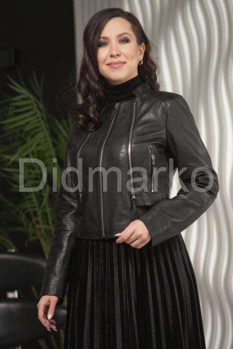Кожаная куртка женская. Фото 5.