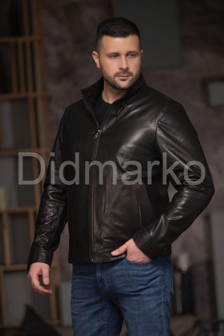 Хит продаж Мужская кожаная куртка. Фото 3.