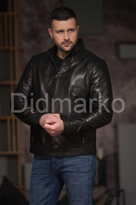 Хит продаж Мужская кожаная куртка, артикул DM1025