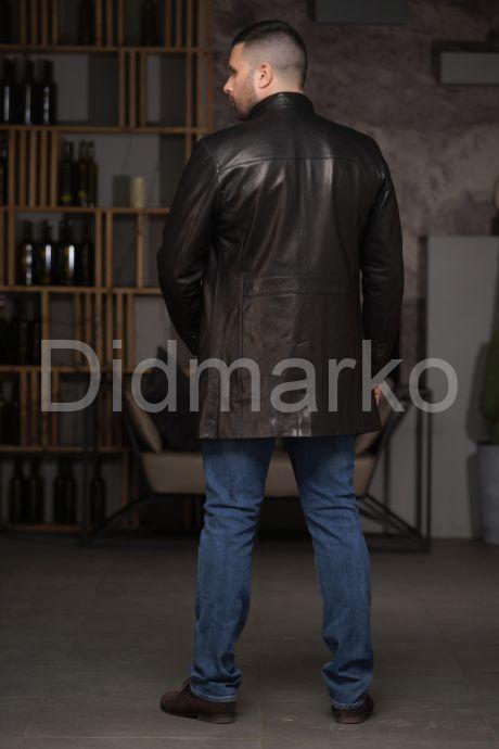 Мужской кожаный френч, артикул DM4990