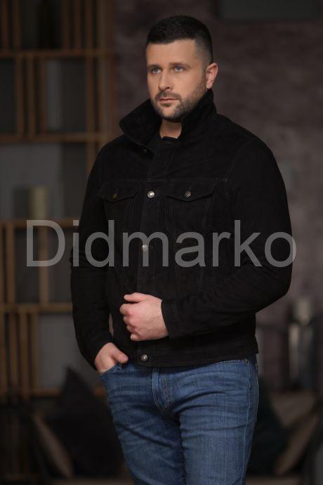 Короткая куртка из замши, артикул DM2280