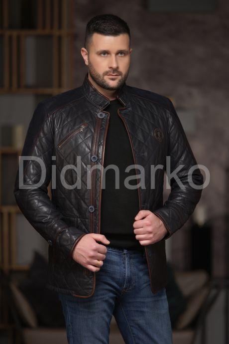 Утепленный стеганный мужской пиджак, артикул DMD84