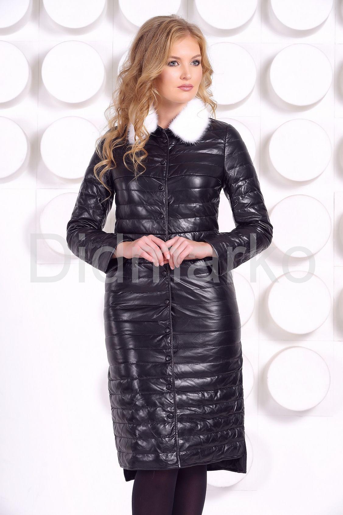 af35e283551 Длинное кожаное пальто Длинное кожаное пальто