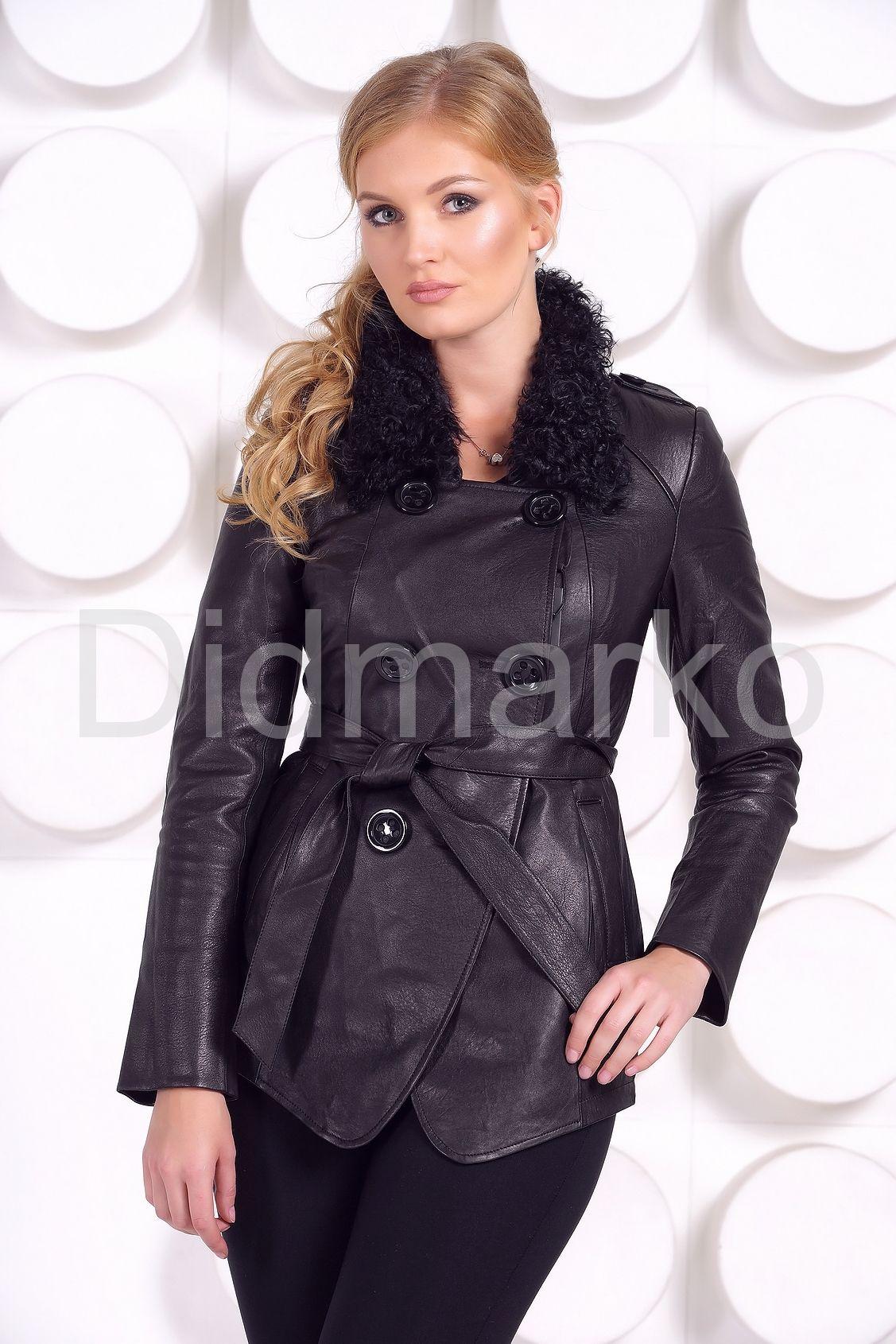 Стильные кожаные куртки