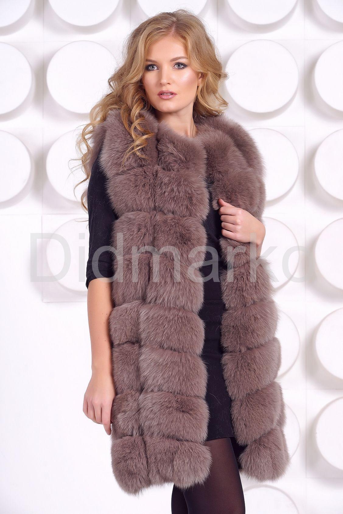 Женская меховая одежда купить в