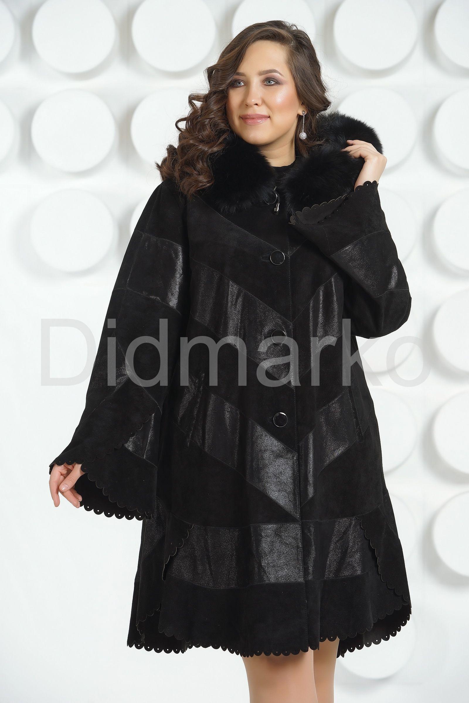 78efcdf9a37 Купить кожаное пальто женское в Москве в интернет-магазине Дидмарко ...
