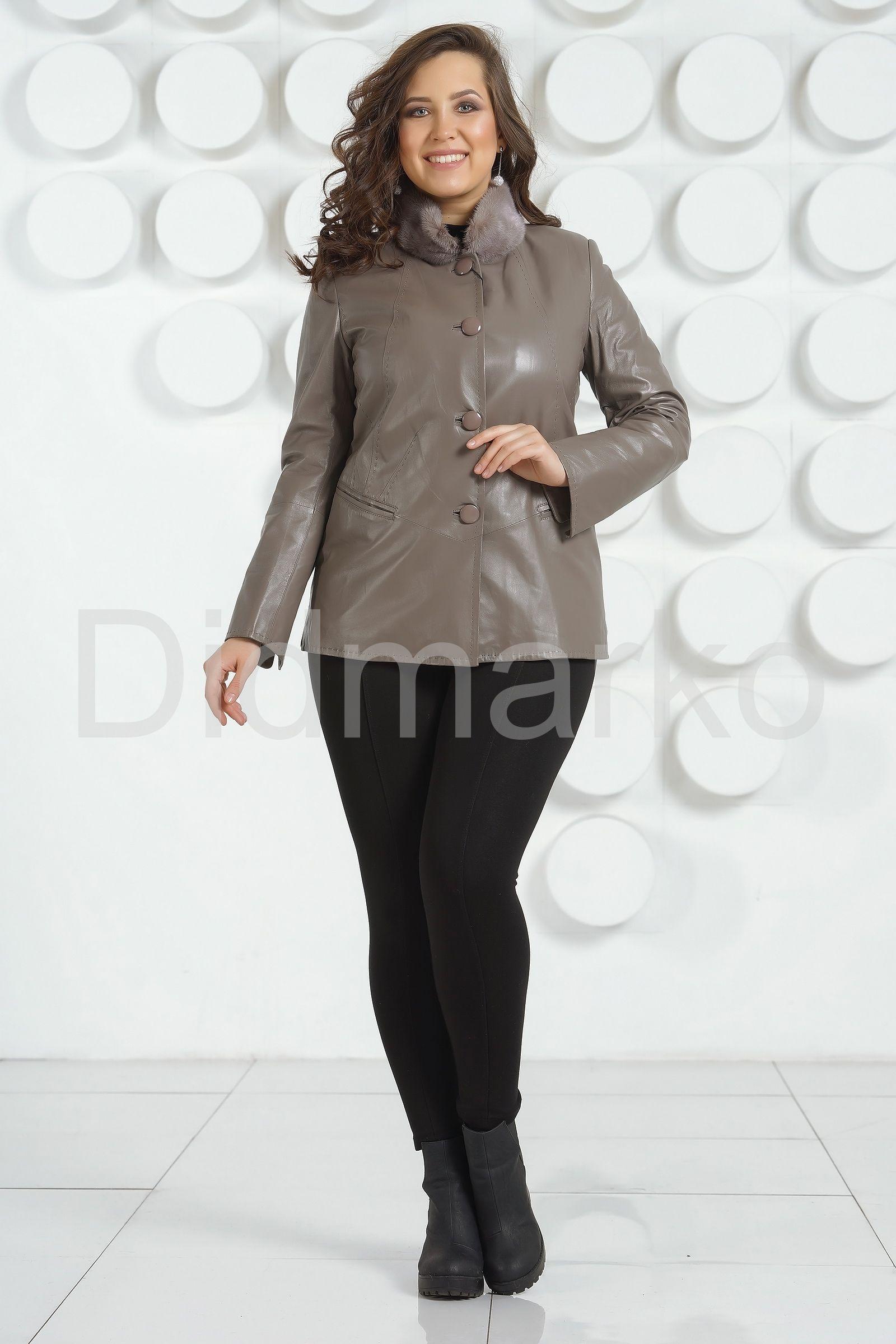 Куртки женские кожаные большого размера Москва