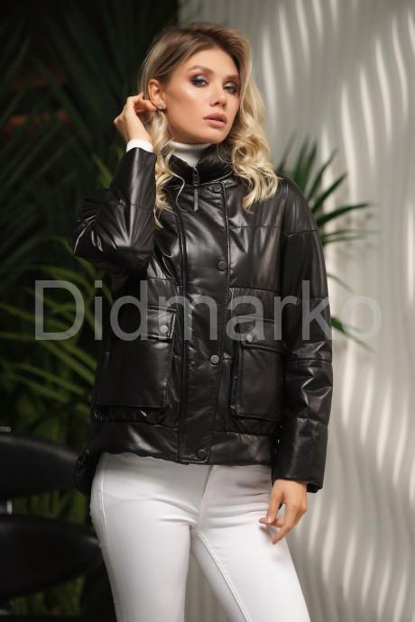 Демисезонная куртка из натуральной кожи осень-весна