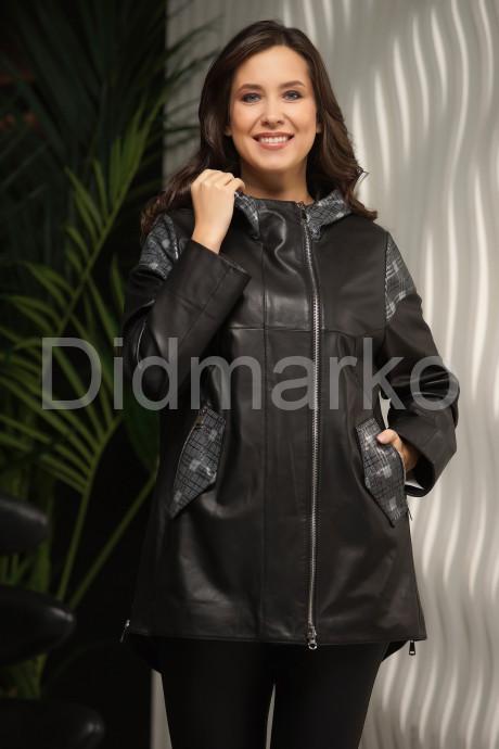 Купить Кожаная куртка с капюшоном  в Москве и Санкт-Петербурге