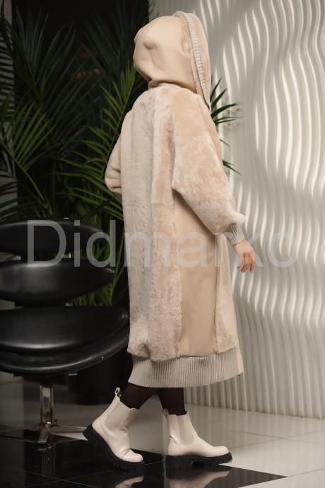 Длинная женская дубленка бомбер,новая коллекция 2022