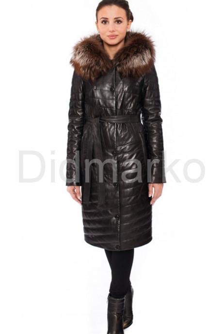Купить Оригинальное кожаное пальто в Москве и Санкт-Петербурге