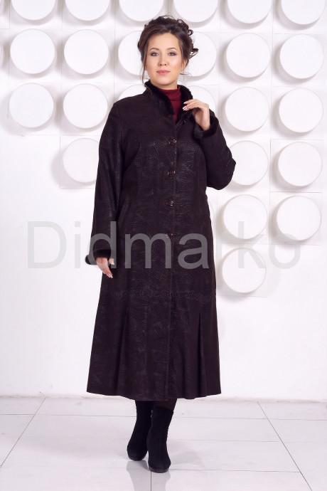 Купить Длинное кожаное пальто RAFINNA в Москве и Санкт-Петербурге