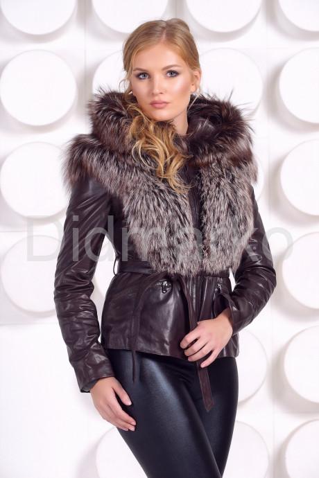 Купить Молодежная куртка-жилетка шоколадного цвета в Москве и Санкт-Петербурге