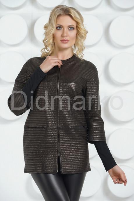 Купить Удлиненная кожаная куртка Шанель в Москве и Санкт-Петербурге