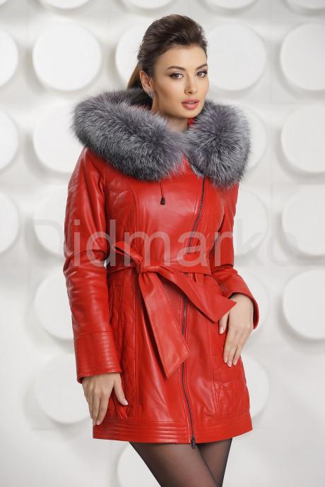 Купить Молодежное полупальто красного цвета в Москве и Санкт-Петербурге