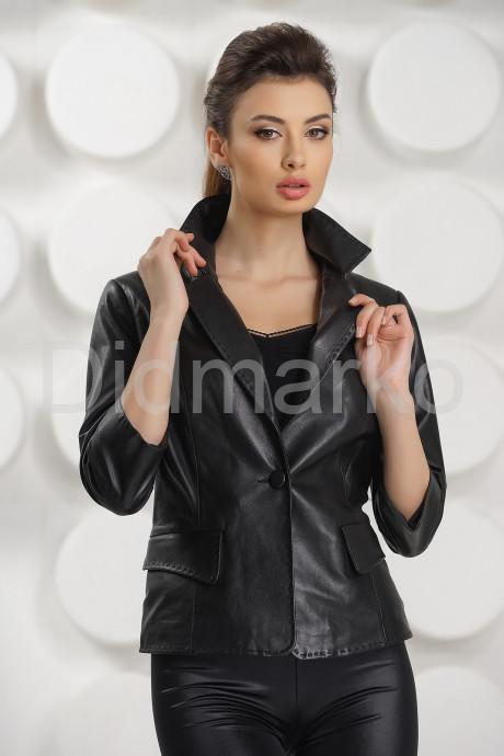 Купить Черная кожаная куртка в Москве и Санкт-Петербурге