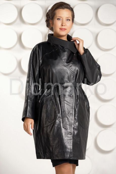 Купить Модный кожаный плащ больших размеров в Москве и Санкт-Петербурге