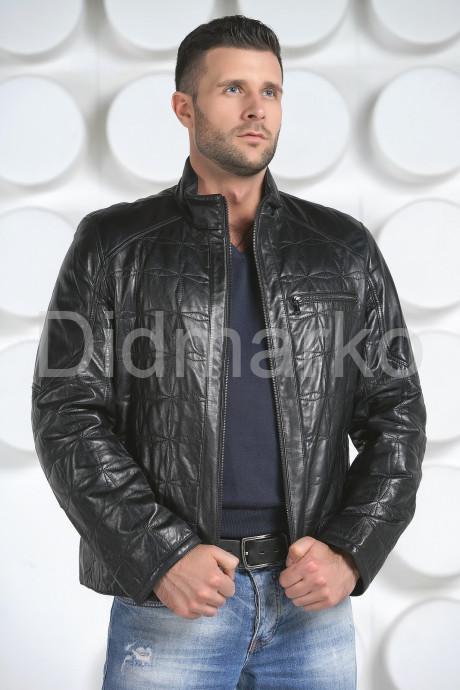 Купить Стеганная кожаная куртка в Москве и Санкт-Петербурге