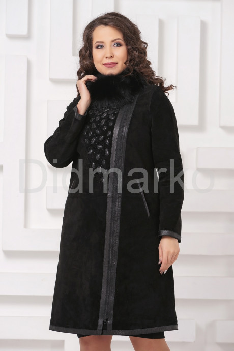 Купить Необычное пальто из замши в Москве и Санкт-Петербурге
