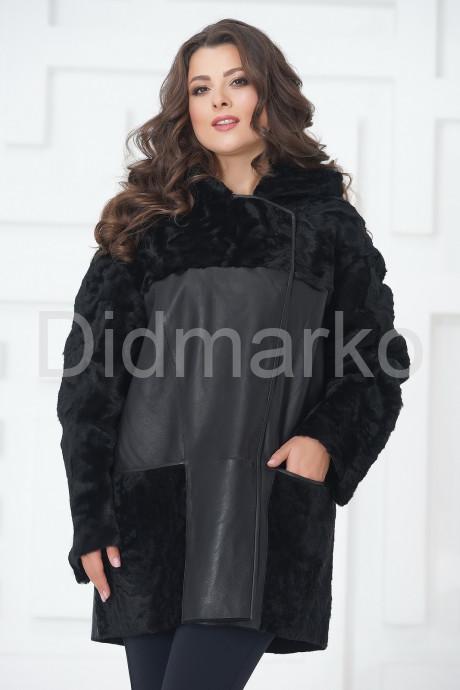 Купить Облегченная дубленка черного цвета в Москве и Санкт-Петербурге