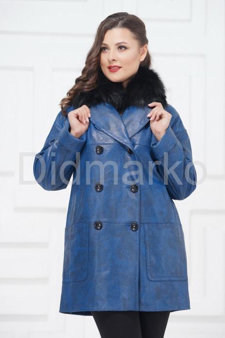Купить Двубортная кожаная куртка в Москве и Санкт-Петербурге