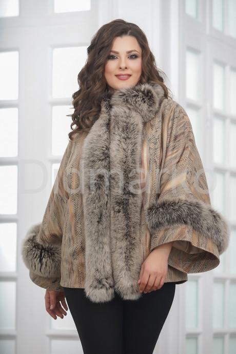 Нежная куртка из замши