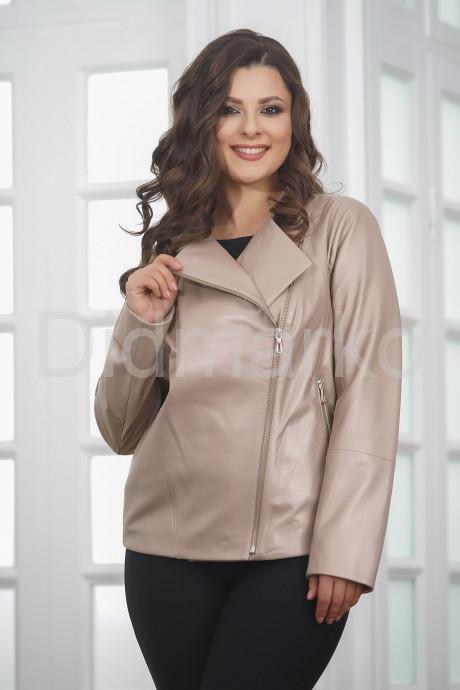 Купить Женская кожаная куртка косуха весна-осень 2021 в Москве и Санкт-Петербурге