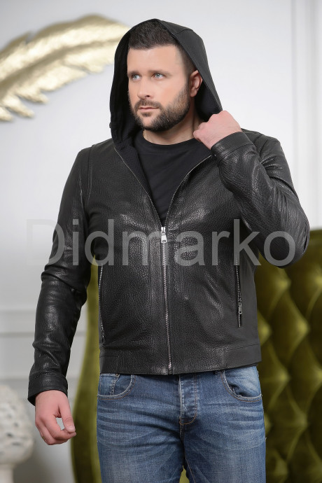 Купить Короткая мужская куртка с капюшоном в Москве и Санкт-Петербурге