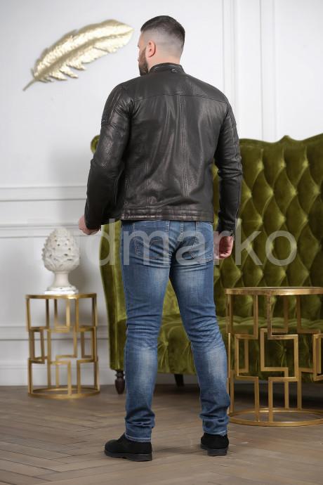 Хит сезона 2021 мужская кожаная куртка