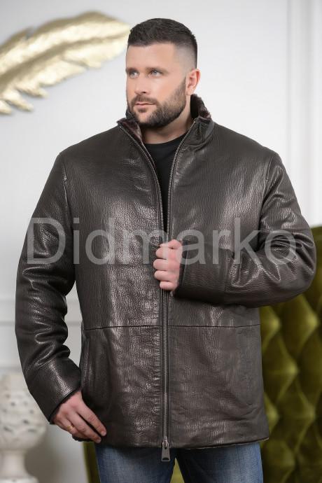 Купить Удлиненная мужская дубленка больших размеров в Москве и Санкт-Петербурге