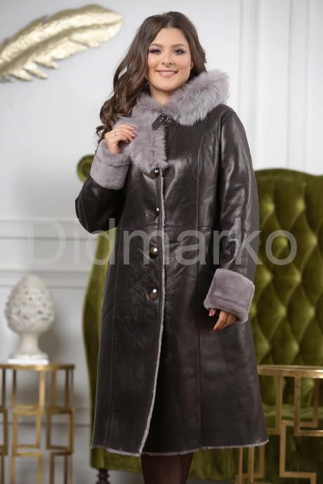 Купить Зимнее пальто из овчины с капюшоном в Москве и Санкт-Петербурге