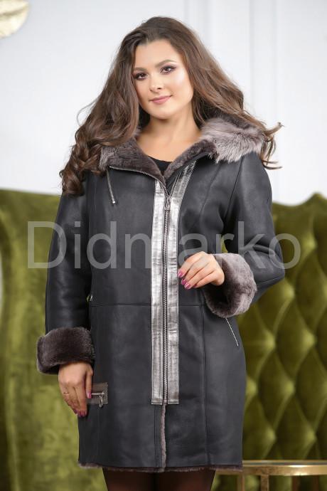 Купить Женская стильная дубленка больших размеров в Москве и Санкт-Петербурге