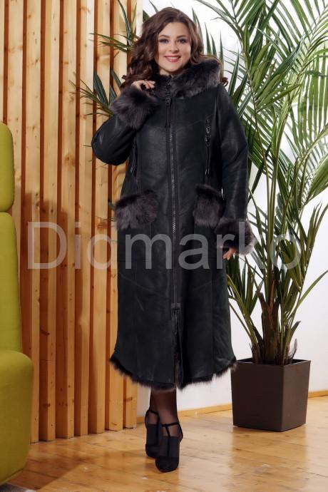 Купить Зимняя женская дубленка с мехом тоскана в Москве и Санкт-Петербурге