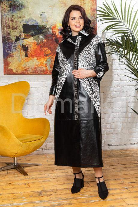 Купить Длинный кожаный плащ 2021 в Москве и Санкт-Петербурге
