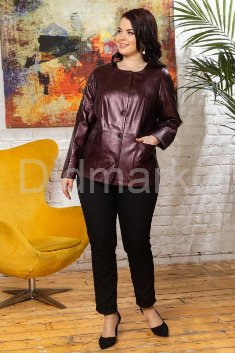 Удлиненная перламутровая кожаная женская куртка Шанель