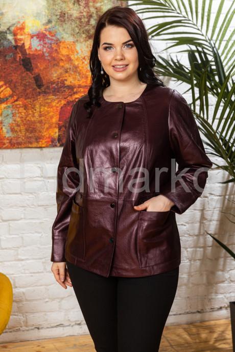 Купить Удлиненная перламутровая кожаная женская куртка Шанель в Москве и Санкт-Петербурге