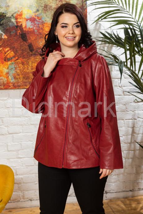 Купить Кожаная женская куртка с капюшоном Весна 2020 в Москве и Санкт-Петербурге