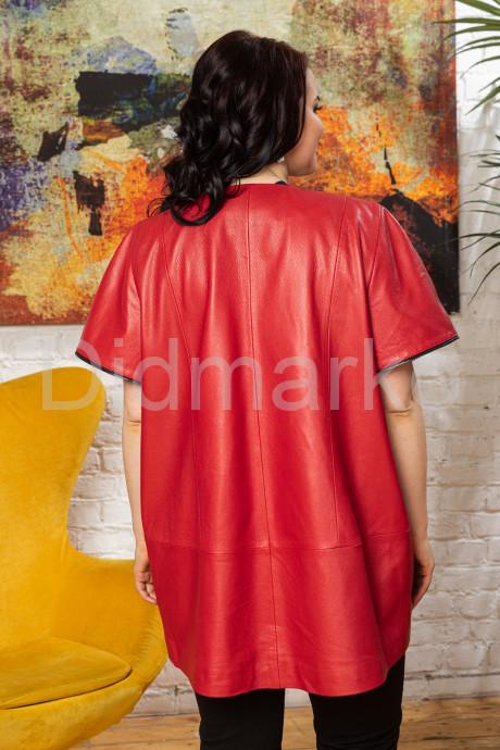 Новинка года -  Кожаный женский жилет