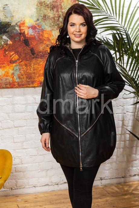 Купить Удлиненная женская кожаная куртка в стиле oversize в Москве и Санкт-Петербурге