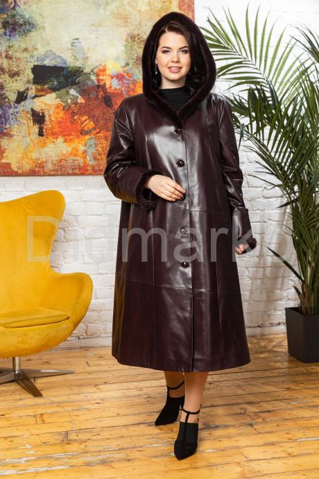 Купить Утепленное кожаное пальто для милых дам AYZA в Москве и Санкт-Петербурге