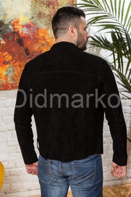 Мужская облегченная куртка из замши