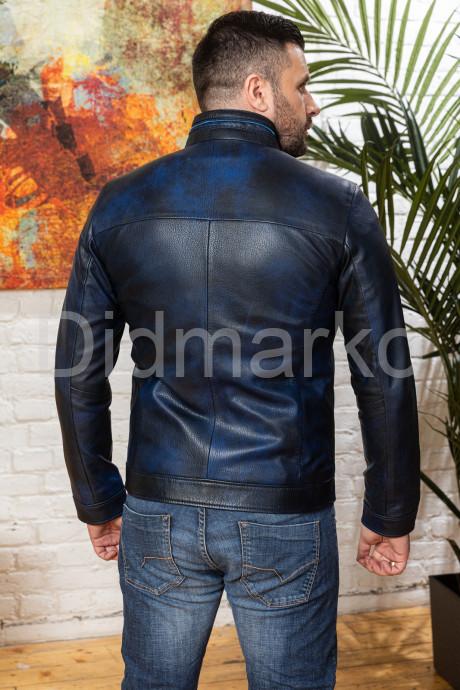 Мужской кожаный жакет