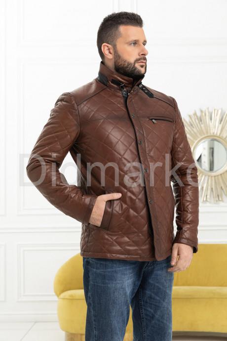 Купить Стеганая кожаная куртка в Москве и Санкт-Петербурге