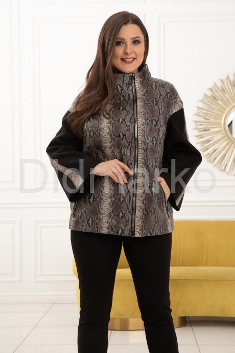 Купить Роскошная кожаная куртка из новой коллекции в Москве и Санкт-Петербурге
