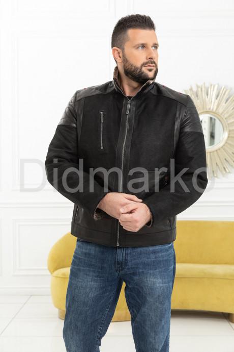 Купить Комбинированная мужская дубленка в Москве и Санкт-Петербурге