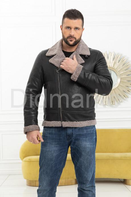 Купить Мужская косуха с мехом керли в Москве и Санкт-Петербурге