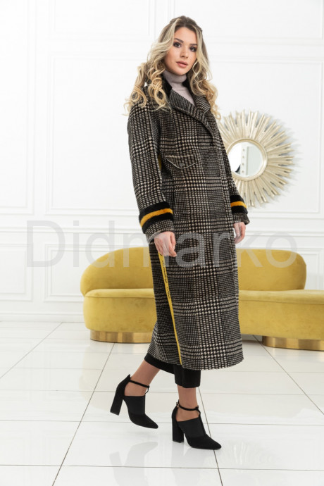 Купить Стильное пальто из меха норки в Москве и Санкт-Петербурге